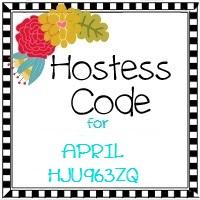 April 2017 hostess code