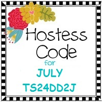 JULY 2017 hostess code