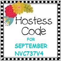 September 2018 Hostess Code