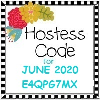 June 2020 Hostess Code